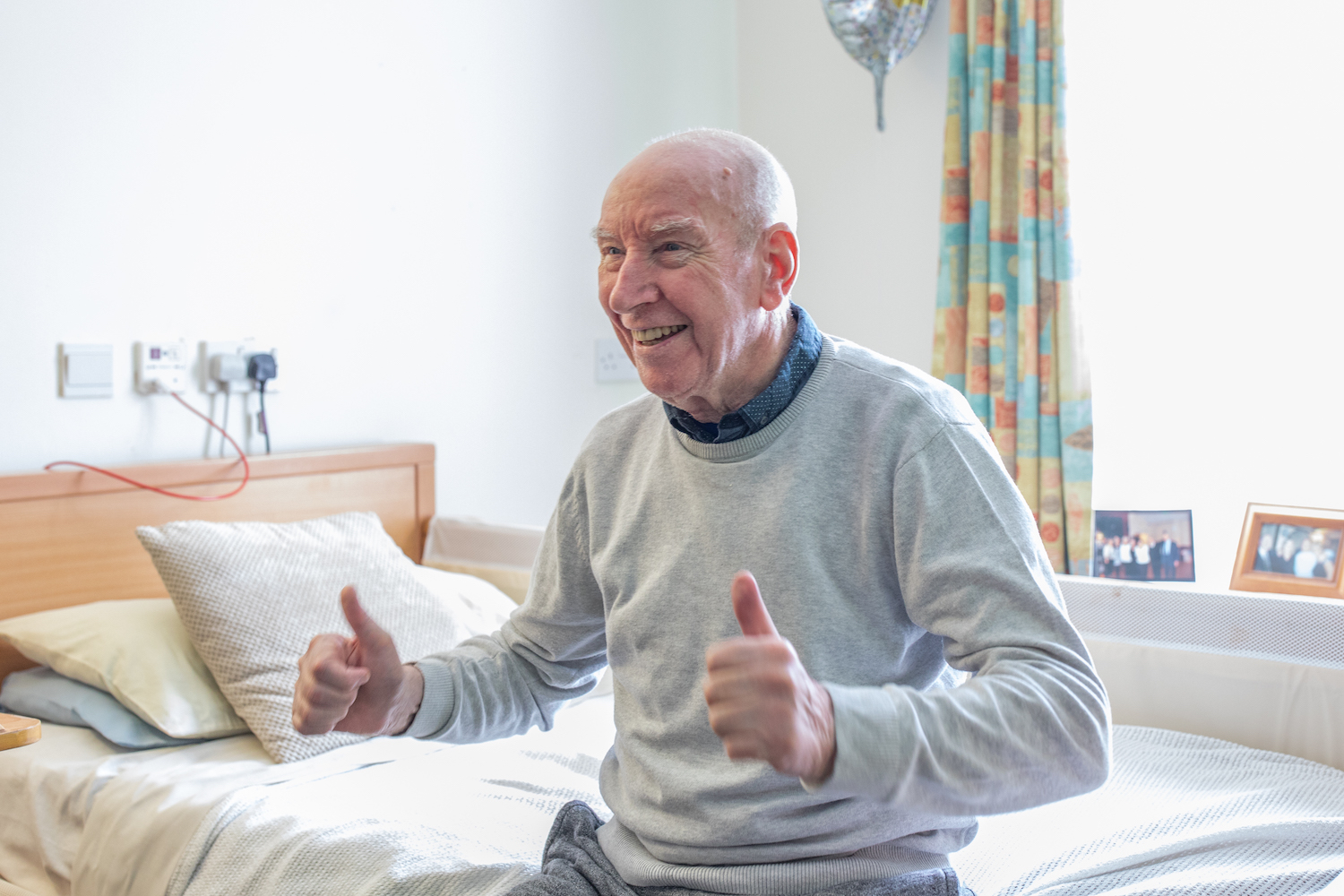 resident at Moorland Gardens Care Home, Luton